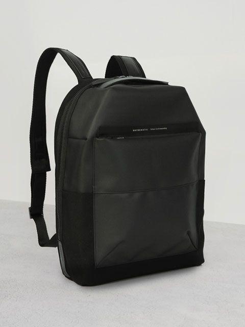 MARK C2 BACKPACK BLACK it's unique Mathematik's backpack.