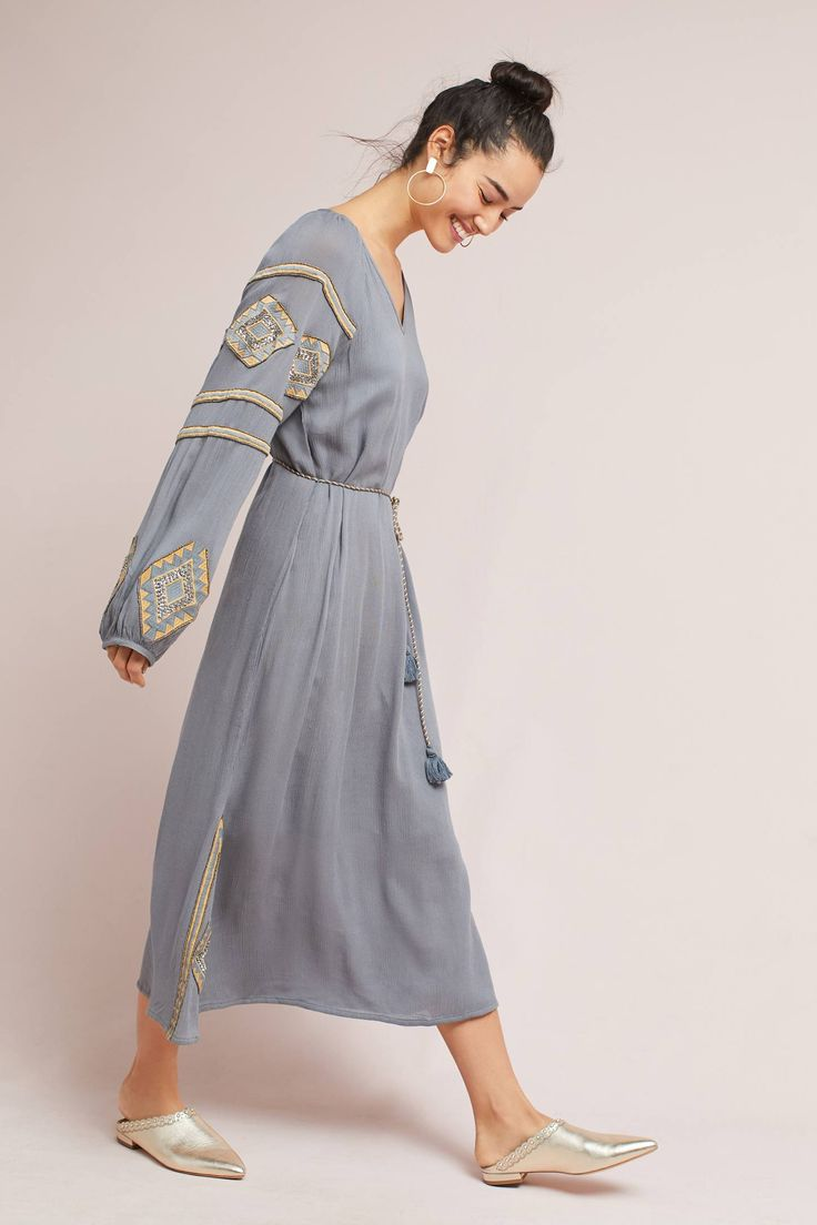 Celestia Tunic Dress | Anthropologie