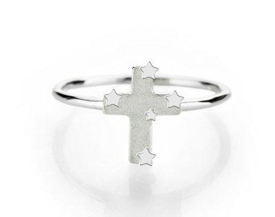 Boh Runga Lil southern cross ring from Walker and Hall Jeweller - Walker & Hall