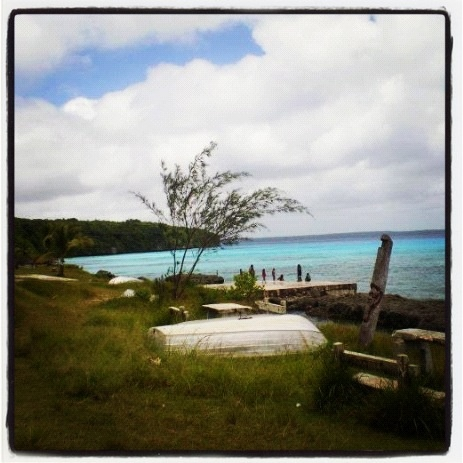 Lifou island, south pacific