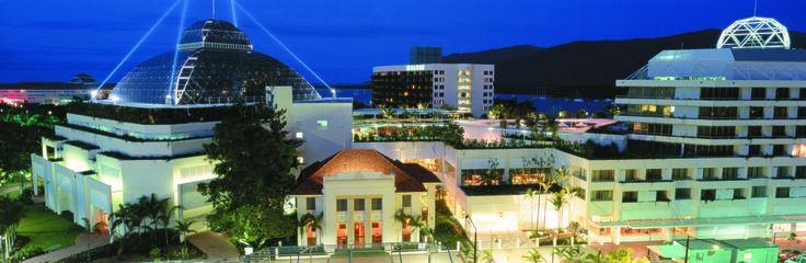 Cairns City at night