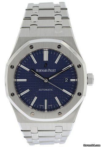 0e7b90efcc8b0 Audemars Piguet Royal Oak 41MM Blue Dial 15400ST in 2019 | WATCH ...