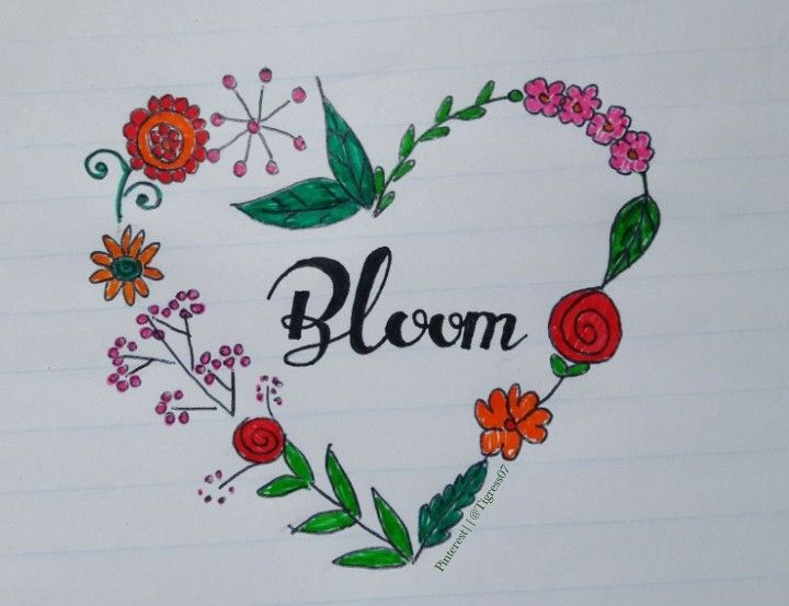 Bloom just like flowers.   By @Tigress07  #flowers #art #love #bloom #rose