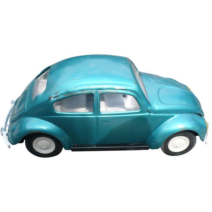 Tonka 1960s Volkswagen Beetle Car Found At Www Rubylane Com Vintagebeginshere Volkswagen Beetle Beetle Car Volkswagen