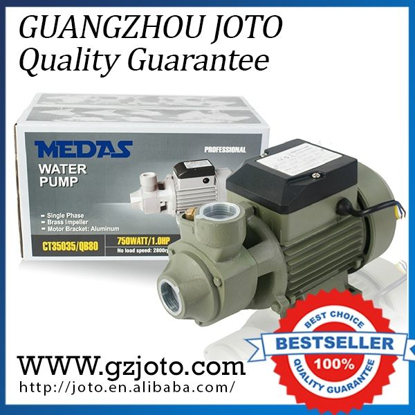 60.00$  Buy here - http://alin44.worldwells.pw/go.php?t=32754059561 - QB-60 370W Electric Jet Pump 220V Portable Water Pump Max Capacity 1600L/H  60.00$