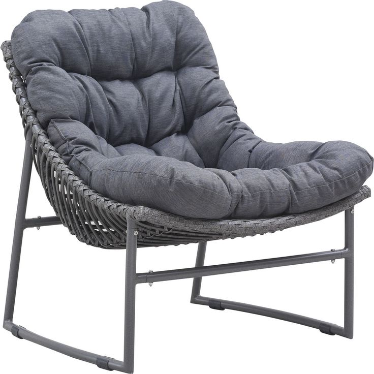 Ingonish Beach Chair Grey - Zuo Modern 703529
