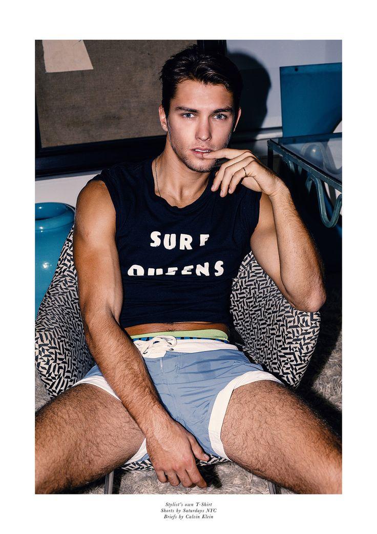 Lucas Garcez by Photographer Joseph Lally 160511 11 | Male Celeb News