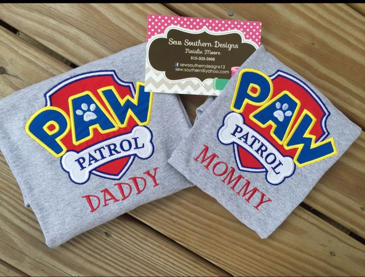 A personal favorite from my Etsy shop https://www.etsy.com/listing/244076228/pp-badge-mom-and-dad-shirt