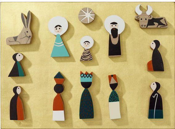 @vitra   > Nativity Scene designer Alexander Girard, 1961