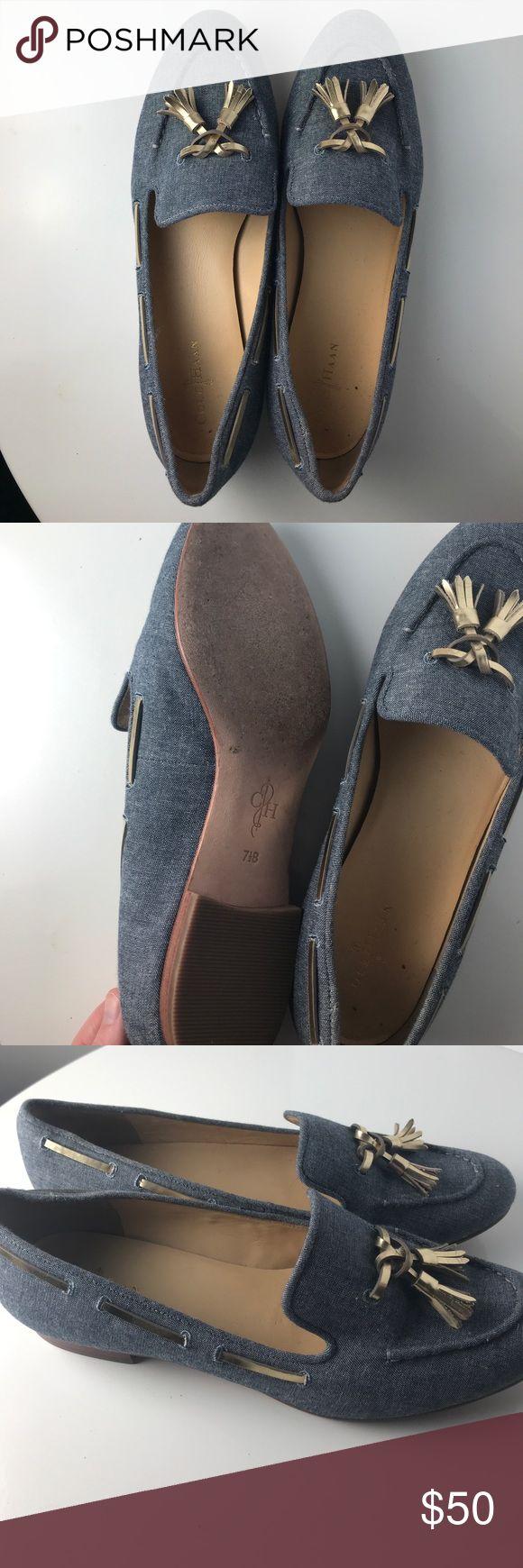 Cole Haan light navy loafers Cole Haan light navy loafers Cole Haan Shoes Flats & Loafers