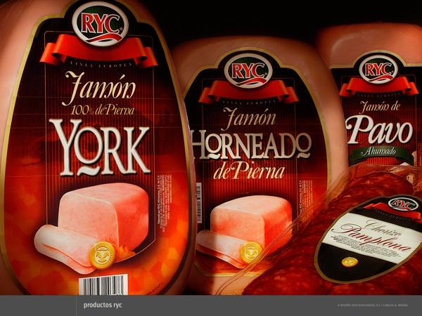 Packaging para RyC Alimentos by Carlos A. Rivera, via Behance