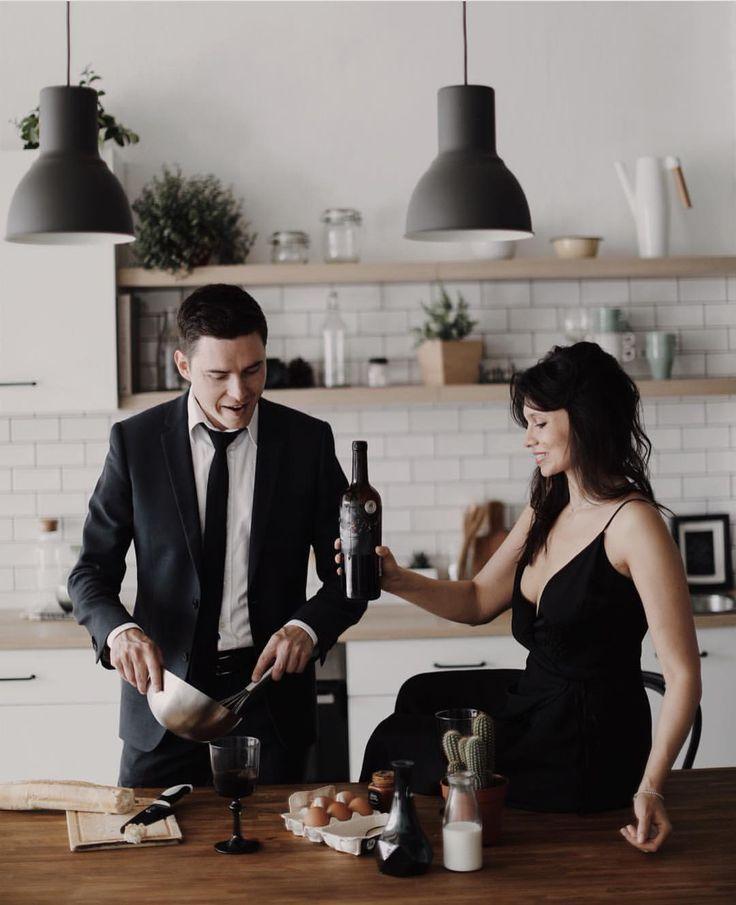 идеи фотосессии для мужчин на кухне трех неудачных попыток