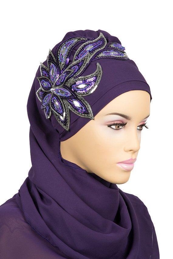 Ready To Wear Hijab  Code: HT-0119-4   muslim women by HAZIRTURBAN