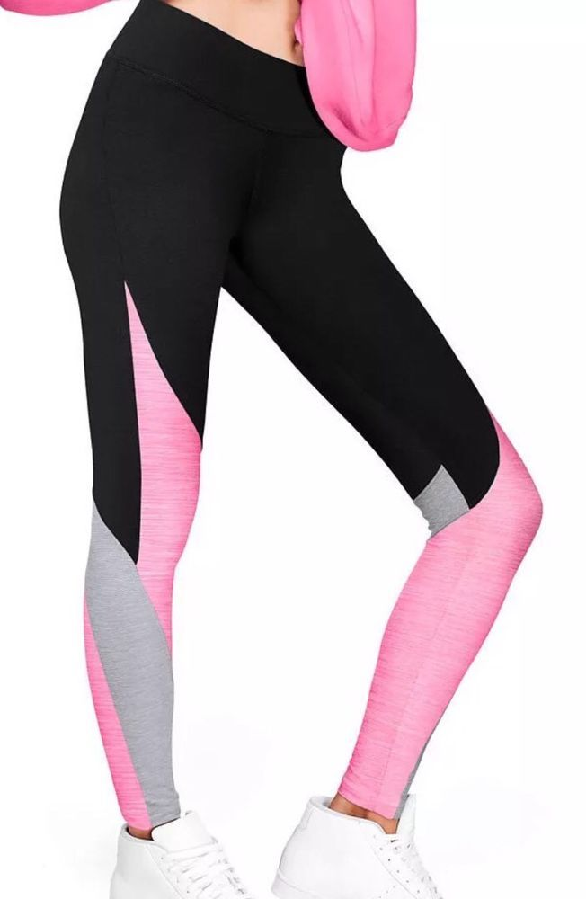 2e645d0a65690 NWT VICTORIA'S SECRET PINK SUPER SOFT YOGA LEGGINGS!!! Medium | eBay ...