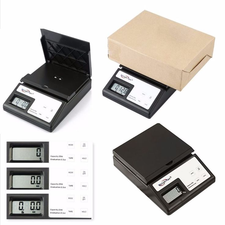 Digital Postal Scale 5 Pound Weight Postage Letter Package