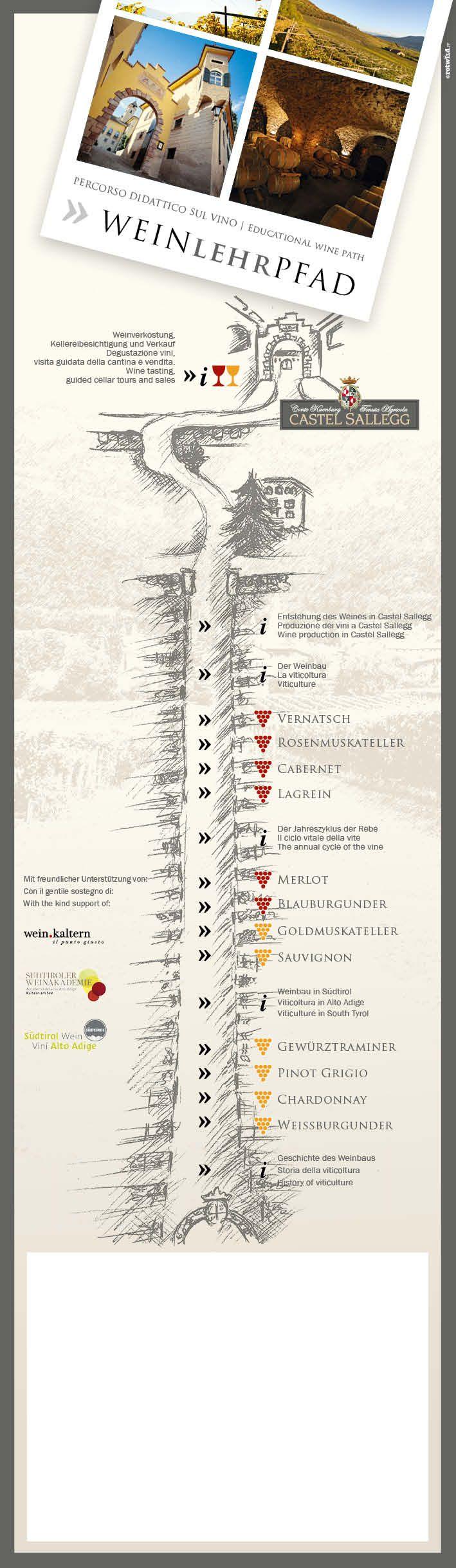 Weinwanderweg Südtirol - Castel Sallegg - Kaltern - 3 - www.rotwild.it