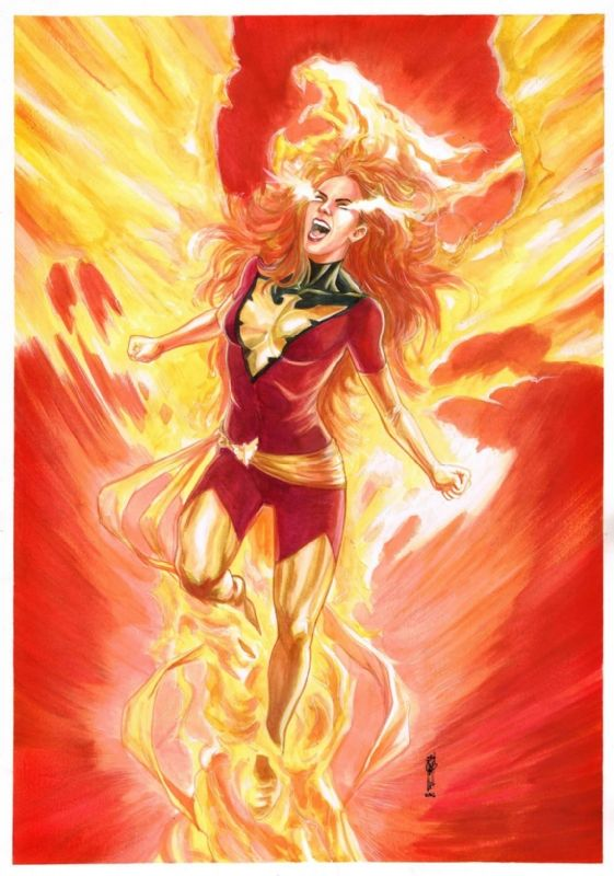 Dark Phoenix of X-Men (Jean Grey) by Garrie Gastonny - Open for commissions!, in…