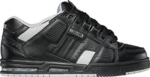 Globe Sabre Skate Trainers Shoes – Black / Silver Grey