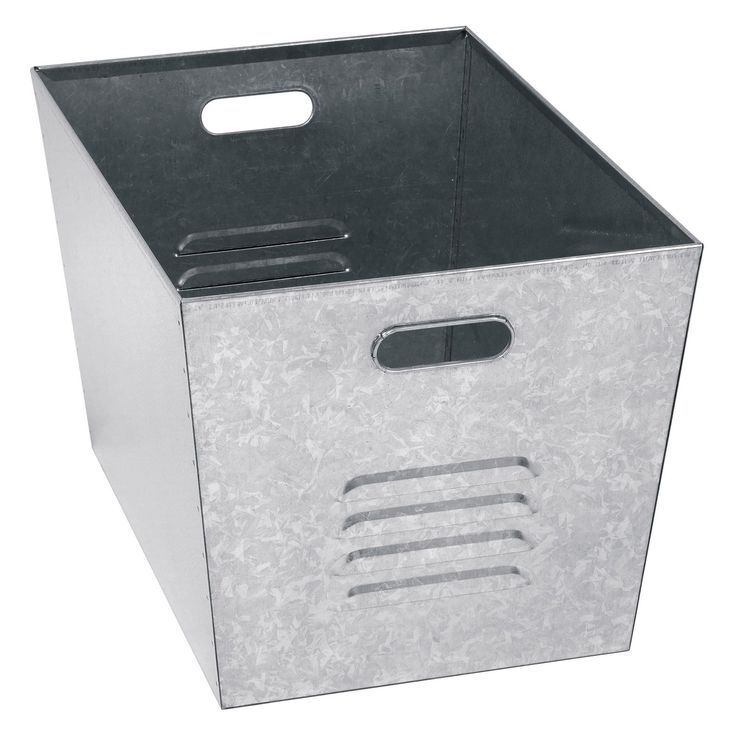 Edsal Galvanized Steel Utility Bin - Set of 6 - The Edsal Galvanized Steel Utility Bin - Set of 6 is perfect for anyone kicking their way around a cluttered work environment. These six galvanized...