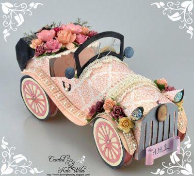 handmade vintage car, Hobby House Products,