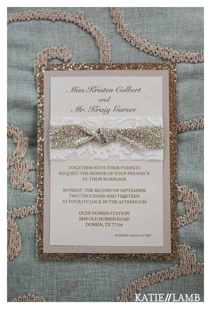 diy wedding invitations for second marriage%0A Katie Lamb Photography https   ift tt TrdyRl DIY Wedding Invitation