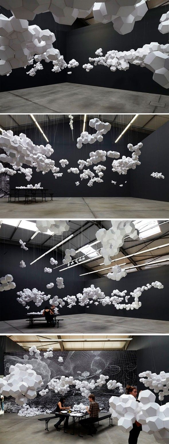 Cloudy House par Tomás Saraceno - Journal du Design