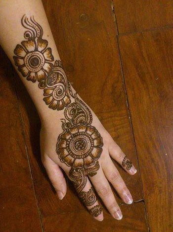 15 Awesome Back Hand Mehndi Designs With Pictures