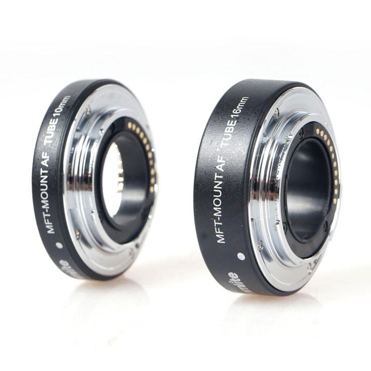 Cm-me-afmm Commlite автоматическая аф макро-объектив удлинитель комплект для микро-кольца M4 / 3 гора олимп объектив камеры бесплатная доставка