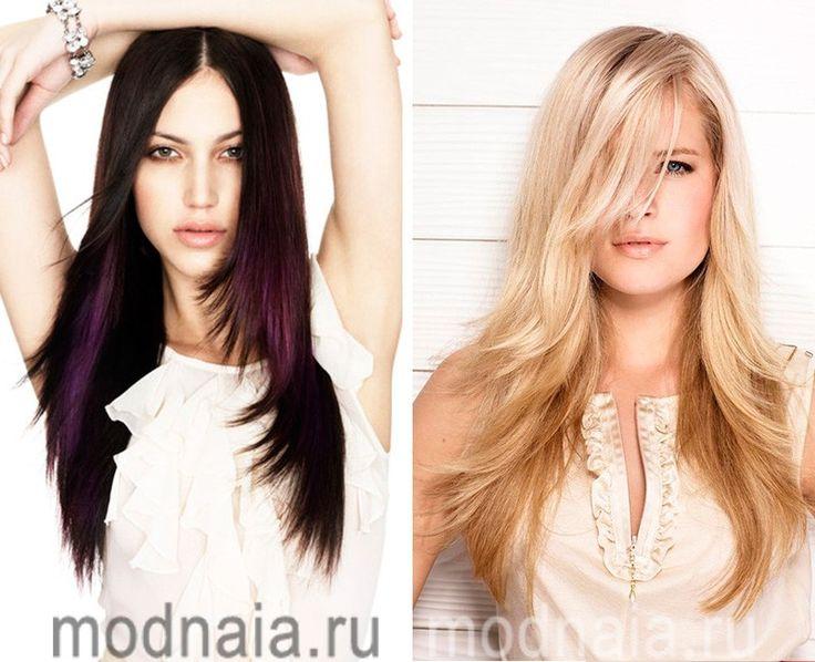 модные стрижки на длинные волосы 2017 лесенка
