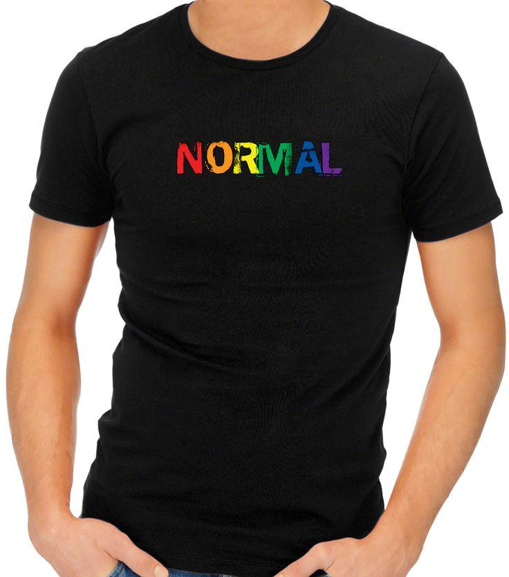 Gay Pride T-Shirt | Rainbow Pride T-Shirt | NORMAL T-Shirt | BMP T-Shirts