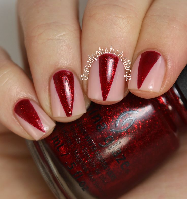 The 25 best vampire nails ideas on pinterest halloween nail art china glaze vampire nails with live love polish nails vampire pretty prinsesfo Choice Image