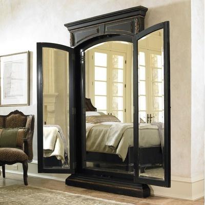 Hooker Furniture Grandover Floor Mirror in Brown