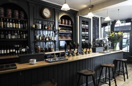 Salamander, Bath Charcoal Grey Bar August 2013 Hayley Willetts