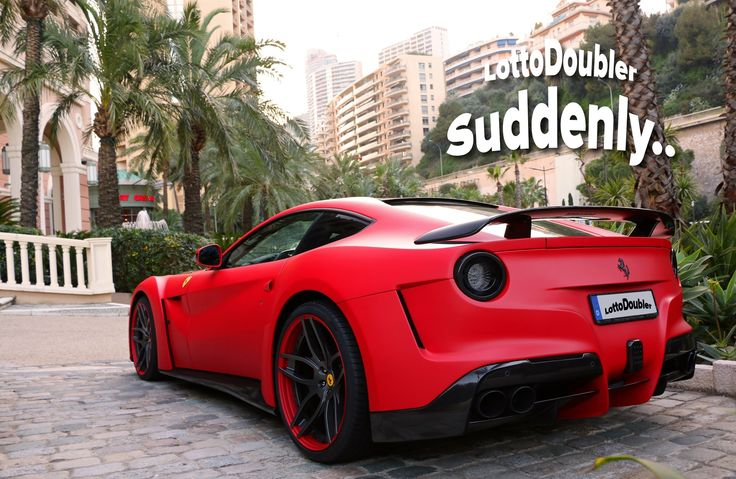 Suddenly.. Ferrari in Monaco | Lottodoubler instant lottery