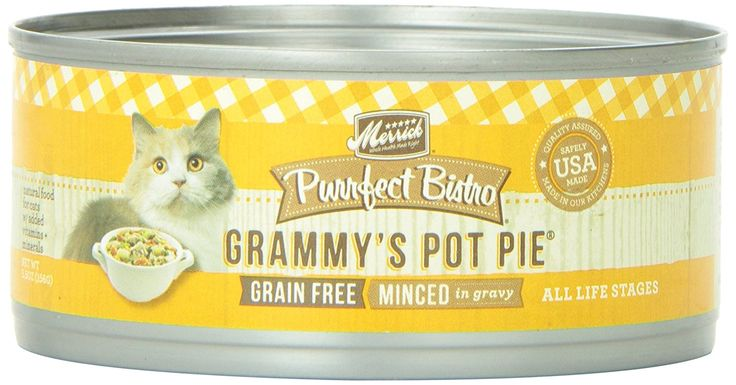 Grammy's Pot Pie Canned Cat Food Size: 5.5-oz, case of 24 => Additional details found at the image link  : Best Cat Food