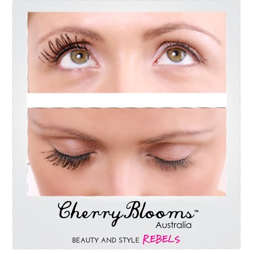 Cherry Blooms Mascara Brush On Fiber Eyelash Extensions In 60 Seconds