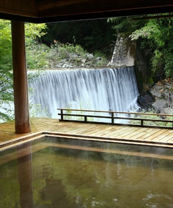 Yakushi hot spring, Gunma, Japan http://www.ozmall.co.jp/18800onsen/0329/spa.aspx (in Japanese only)