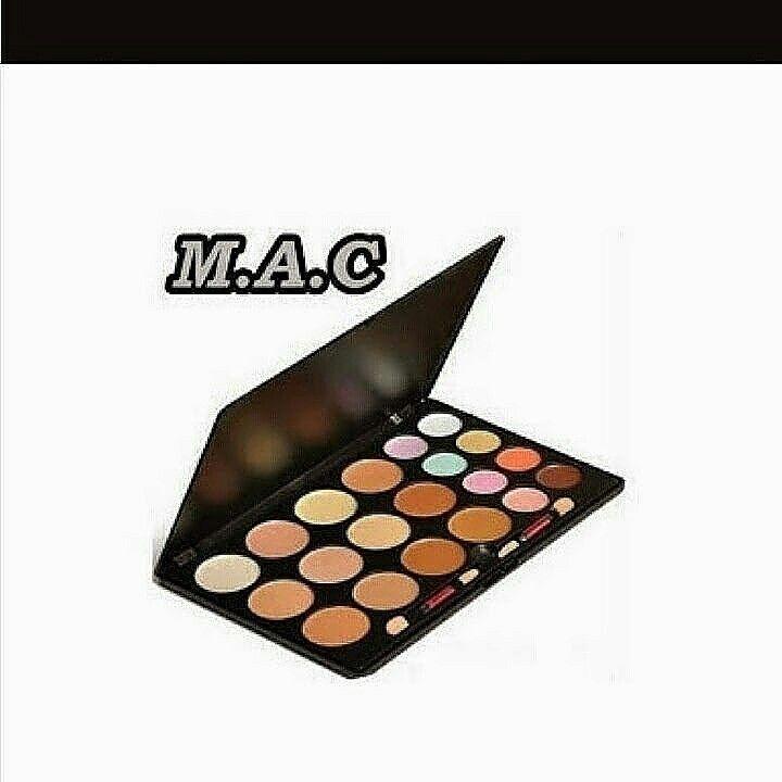 Mac profesyonel 20 li kontur paleti = 35 tl    05546673690 whatsapptan siparis alinir