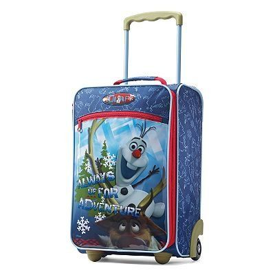 Disney Frozen Olaf Tourister Rolling Luggage Case @ niftywarehouse.com #NiftyWarehouse #Frozen #FrozenMovie #Animated #Movies #Kids