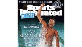 """Meet Newcomer Reece Whitley: The 2015 SportsKid Of The Year..""""I think as I get older …I'm going to need to take—play a key role in kind of integrating swimming into inner city communities a lot more."""" – Reece Whitley  If you haven't heard of Reece Whitley, it's only a matter of time.  Towering at 6 foot-8, the 17-year-old swimmer who slices through water with record precision, could become the new face of the U.S. Olympic swimming team in 2020."""
