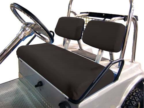 club car ds old style golf cart 1982 2000 black vinyl replacement seat covers d vinyls and. Black Bedroom Furniture Sets. Home Design Ideas