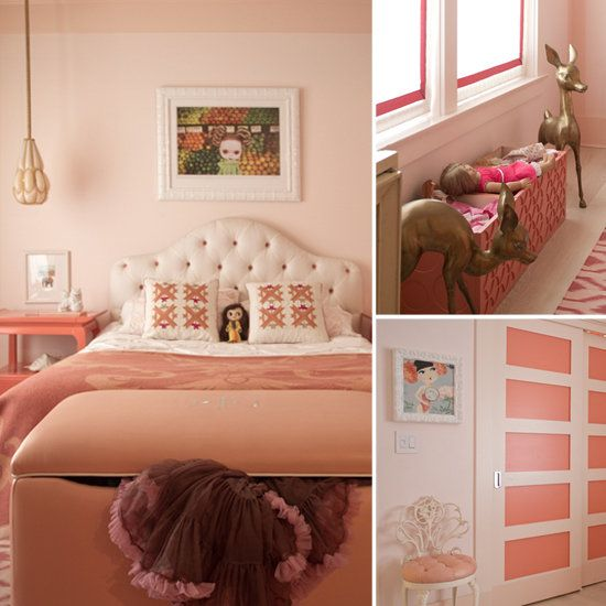 Benjamin Moore Coral Gables for O's big girl room