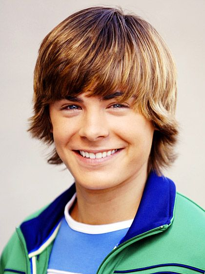 "Baby-faced ""High School Musical"" heartthrob, Zac Efron"
