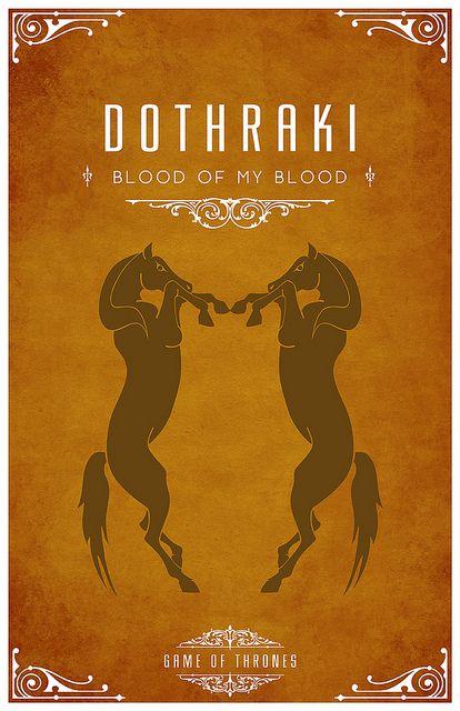 Dothrakis - Sangue do meu sangue