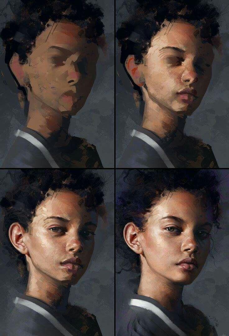 Soul of a portrait