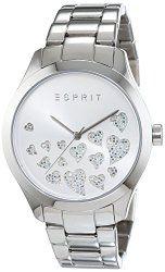Esprit Esmee ES107282004 – Wristwatch da Women, Watchband in Stainless Steel color Silver
