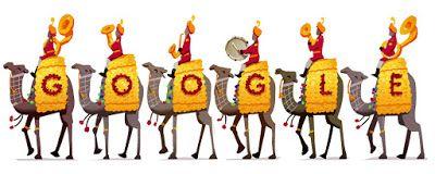Doodleando, Los Logos de Google: Día de la República de la India 2016.