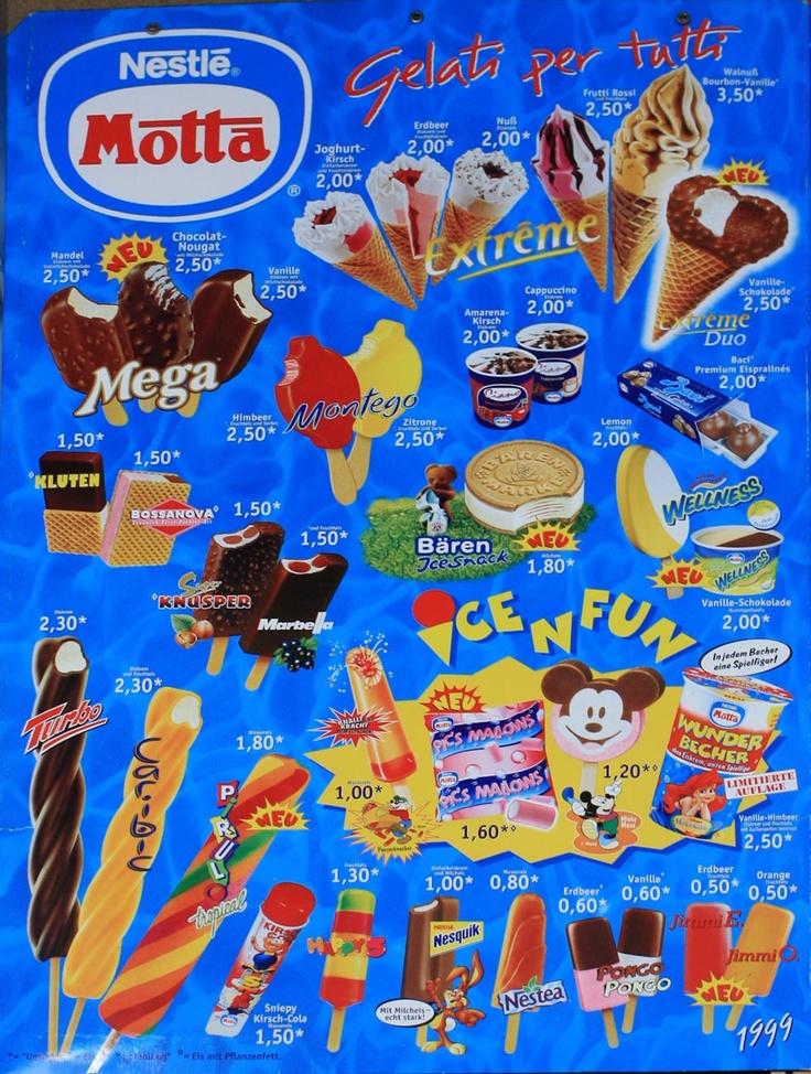 Motta 1999 | Ice cream advertising