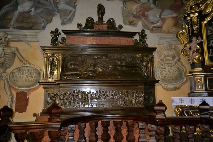 Nagrobek Krzysztofa Szydłowieckiego w Opatowie, Jan Cini, Bernardino de Gianotis, 1533-36 <nagrobek gablotowy>