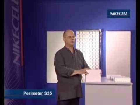 Nikecell hőszigetelés a terepszint alatt és az épületlábazatokon - YouTube
